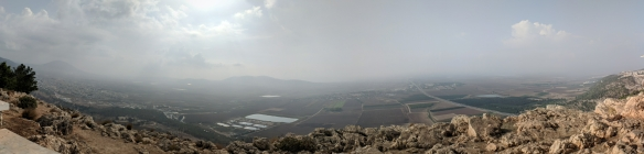 Jezreel Valley from Mt. of Precipice